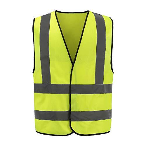 Auto Warnweste, Sicherheitsweste, Pannenweste für Auto, Fahrrad, Waschbar, arbeschutzkleidung