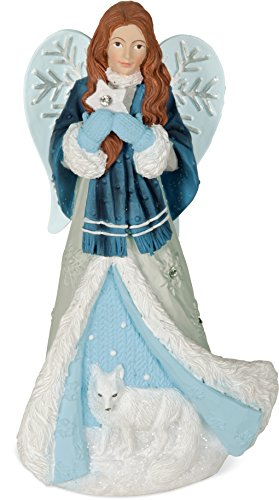 Angel Star Winter Angel - Hope Figur, hellblau