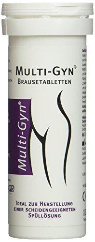 Multi-Gyn Brausetabletten zur Herstellung einer Vaginalspüllösung 1 Röhrchen mit 10 Brausetabletten abgestimmt auf die Verwendung Multi-Gyn Vaginaldusche
