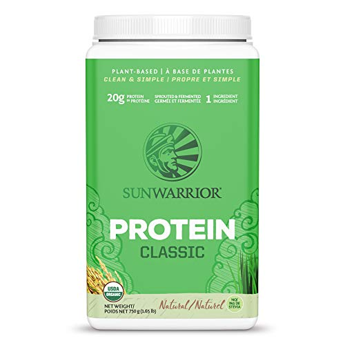 SUNWARRIOR Classic Rice Protein Natural, 750 g