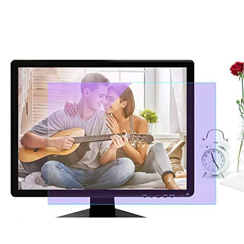 SYEA Sonnenschutz Folie Blaulicht-Schutzfolie HD-Strahlenschutz Wasserdicht Und Schmutzabweisend Blendschutz Für Monitor(Size:24in/531×298mm)