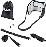Limm Neck and Head Hammock – Portable Cervical Neck Traction Device for Back Pain Stress Relief, Physical Therapy & Relaxation – Neck Stretcher with Durable & Adjustable Straps – Back Stretcher