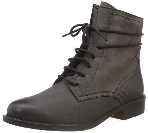 Tamaris Damen 25111-21 Combat Boots, Grau (Anthracite 214), 37 EU