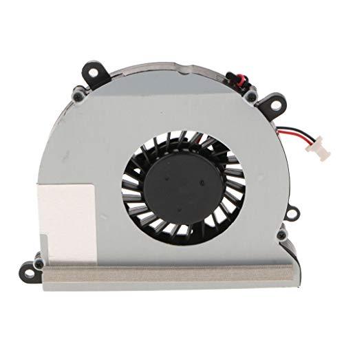 IPOTCH Ventilador de Enfriamiento de Computadora 64x72x10mm Ventiladores de Enfriamiento de Cable de Alimentación de 2 Pines para DV4