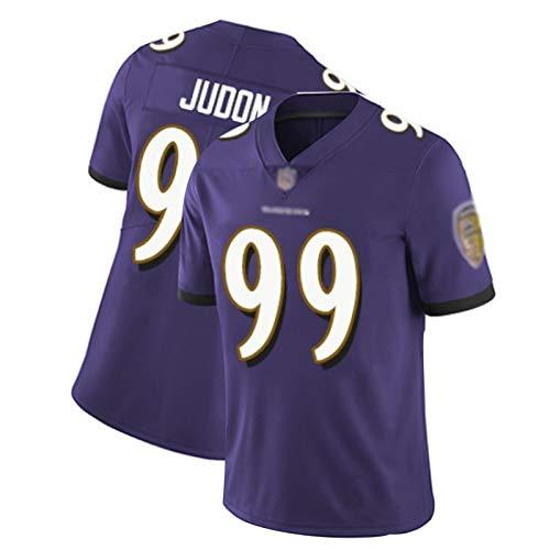 WHUI Judon Rugby Jersey 99#, Fußball-Tanktop, Erwachsenengröße, geeignet für sportliche Sport- und Freizeitsportarten Purple-S