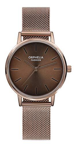Orphelia Fashion Reloj de Pulsera para mujer Analógico Belt con correa de acero inoxidable