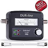 DUR-line SF 2400 Pro – Satfinder Messgerät zum exakten Ausrichten der Satelliten-Schüssel - 6