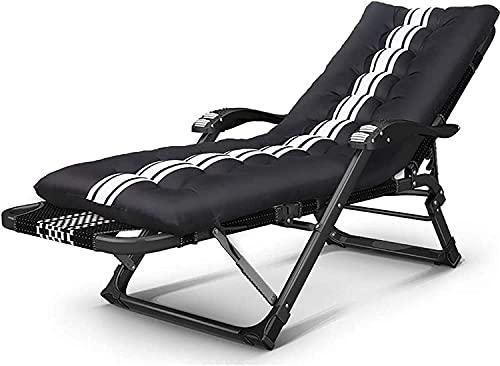 Sillones plegables reclinables al aire libre, tumbona, tumbona, sillón plegable, almuerzo, multifuncional, ocio, oficina, hogar, hogar, cubierta, camping, playa, silla portátil, carga