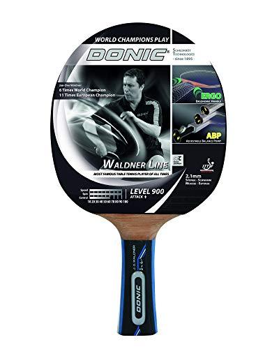 Donic-Schildkröt Tischtennisschläger Waldner 900, ABP-Griff, 2,1 mm Schwamm, Alpha Slick - ITTF Belag, 754893