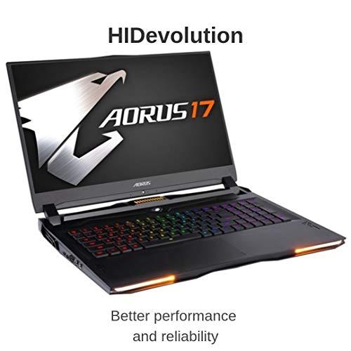 Compare HIDevolution AORUS 17 YA-9US2452SH (AO17-YA-9US2452SH-HID1) vs other laptops