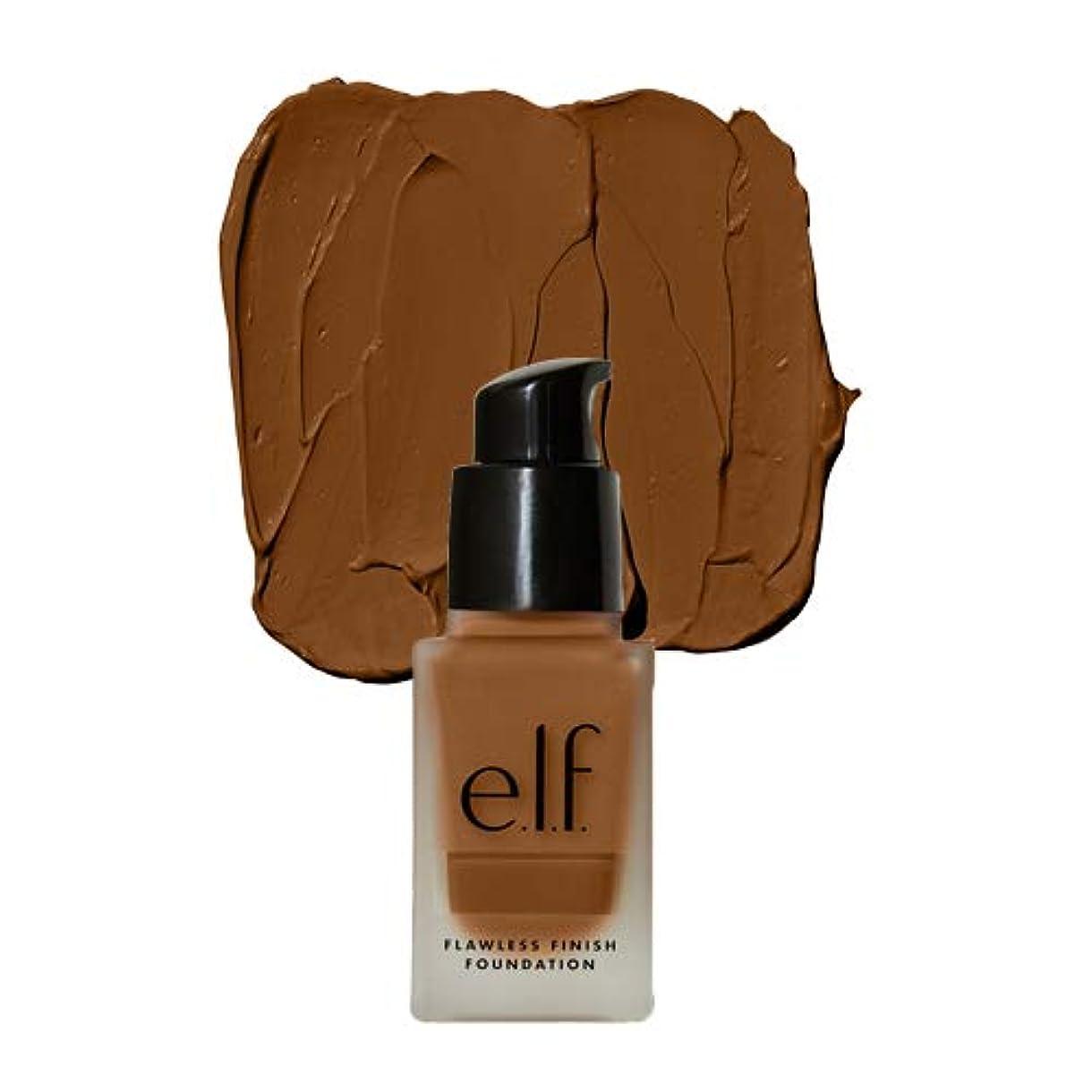 拒絶じゃがいも植物の(3 Pack) e.l.f. Oil Free Flawless Finish Foundation - Nutmeg (並行輸入品)