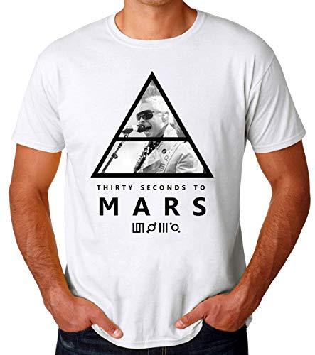 30 Seconds to Mars Triangle Artwork Männer T-Shirt Medium