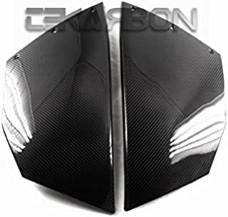 Tekarbon, Replacement for Large Side Fairings, KTM RC8 (2012-2015), Carbon Fiber, 2x2 Twill Weave