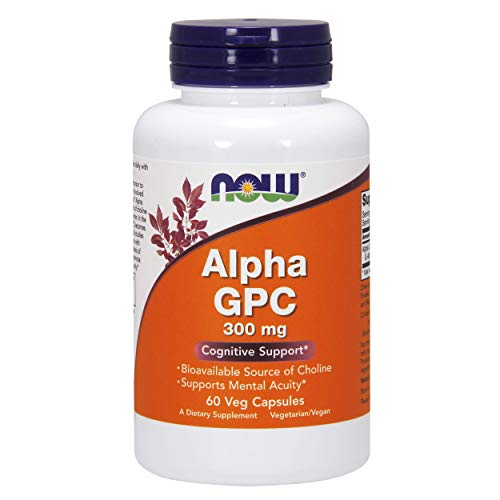 NOW Alpha GPC 300mg, 60 Stück