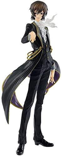 AGOOLZX Vestido De Lelouch Rebelde Personajes De Anime En Caja Modelo De Personaje De Anime Personaje De Acción Personaje De Juguete De Dibujos Animados Estatua Personaje Amante Decoración Regalo 27cm