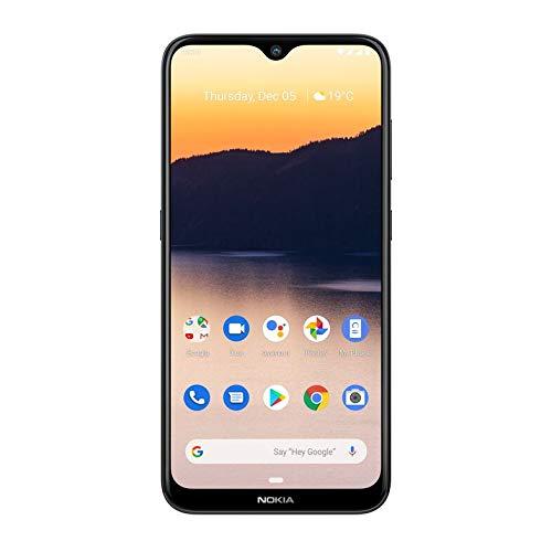 Nokia 2.3 Android 10 Smartphone 2GB RAM, 32GB Storage, Dual Rear Camera, Charcoal