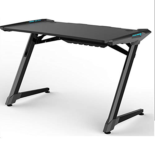 Computer Desks Gaming Desk Gamer Workstation PC Computer Tafel Stabiele Structuur LED Strip