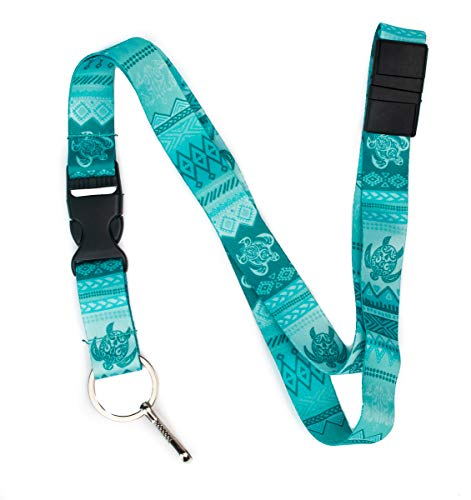 Tattoo Tribal Turtle Premium Lanyard by Limeloot