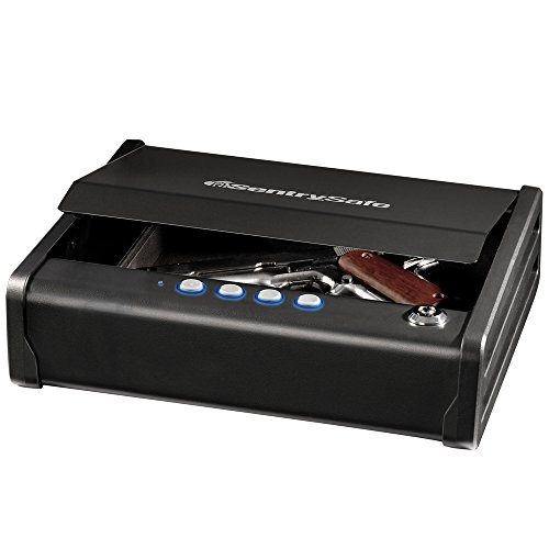 SentrySafe QAP1E Gun Safe with Digital Keypad One Handgun Capacity