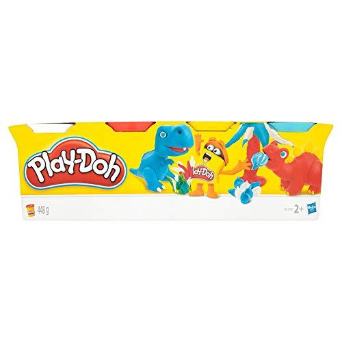 Play-Doh – 4 pots de Pate A Modeler - Multicouleur - 112 g chacun