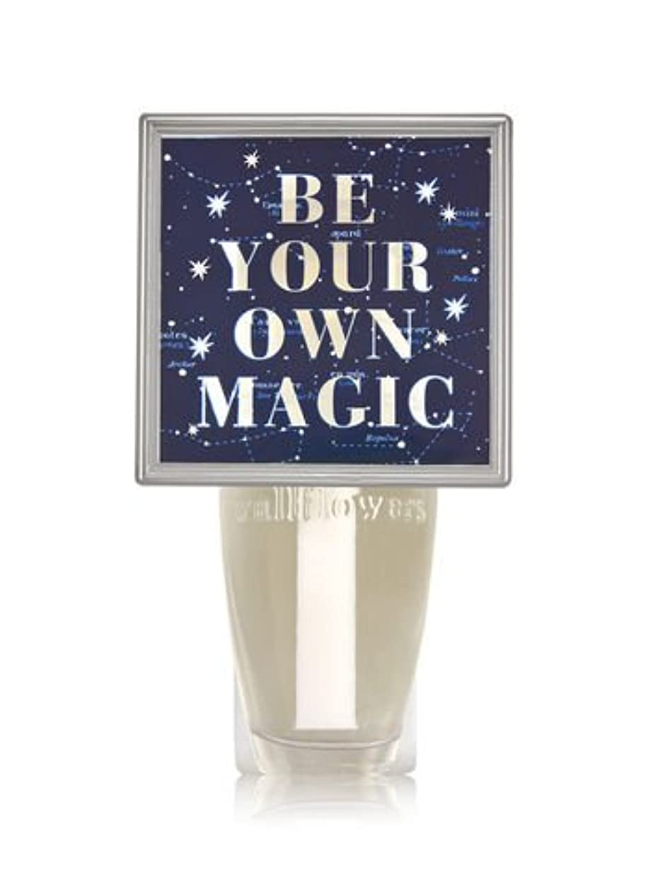 文化テザー純正【Bath&Body Works/バス&ボディワークス】 ルームフレグランス プラグインスターター (本体のみ) ナイトライト Wallflowers Fragrance Plug Be Your Own Magic [並行輸入品]