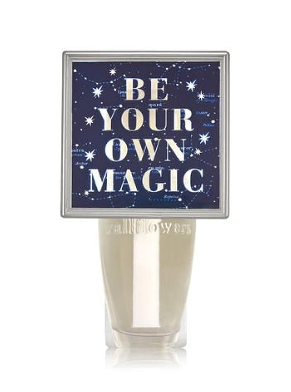 ずんぐりした中傷脅威【Bath&Body Works/バス&ボディワークス】 ルームフレグランス プラグインスターター (本体のみ) ナイトライト Wallflowers Fragrance Plug Be Your Own Magic [並行輸入品]