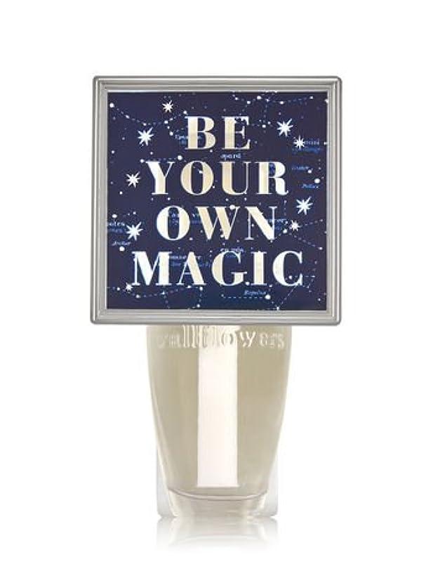 出席する請負業者不和【Bath&Body Works/バス&ボディワークス】 ルームフレグランス プラグインスターター (本体のみ) ナイトライト Wallflowers Fragrance Plug Be Your Own Magic [並行輸入品]