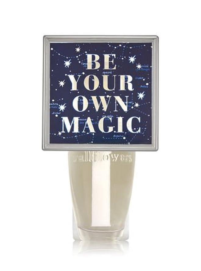 理解必要性スティック【Bath&Body Works/バス&ボディワークス】 ルームフレグランス プラグインスターター (本体のみ) ナイトライト Wallflowers Fragrance Plug Be Your Own Magic [並行輸入品]