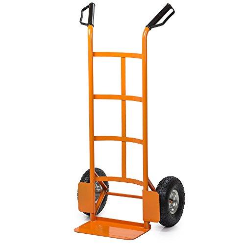 Easy Tools Carrello portapacchi 200kg porta pacchi trasporto ruote pneumatiche ET52961