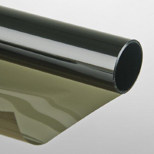 Zonwerende folie, zelfklevend, raamfolie, getinte folie, 75 x 300 cm, groen