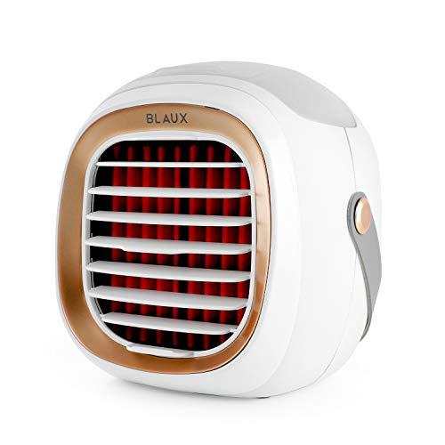 BLAUX Portable AC - Enfriador de aire con batería | Climatizador portátil & Climatizador evaporativo | Climatizador frío y aire portátil silencioso | Mini enfriador de aire | Climatizador