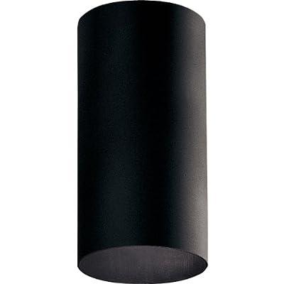 Progress Lighting P5741-31 Cylinder Outdoor, 6-Inch Diameter x 12-Inch Height, Black