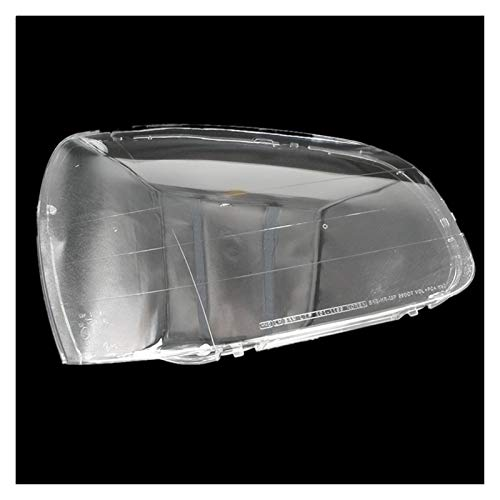 SHPING® Fit für Hyundai Santa Fe 01-06 Scheinwerferabdeckung Scheinwerfer Deckel Scheinwerferschale Transparente Lampenschirm-Maskenlinse (Color : Right Side 1 Piece)