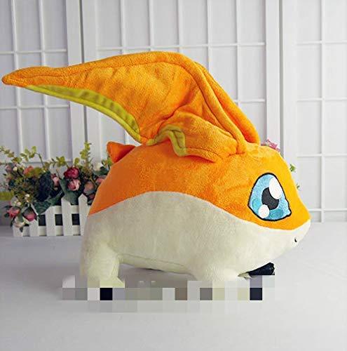 panggedeshoop Plüschtiere Patamon Plüschtier Anime Digimon Adventure Takaishi Takeru Haustier Patamon 35Cm Kurzes Plüschpuppenkissen