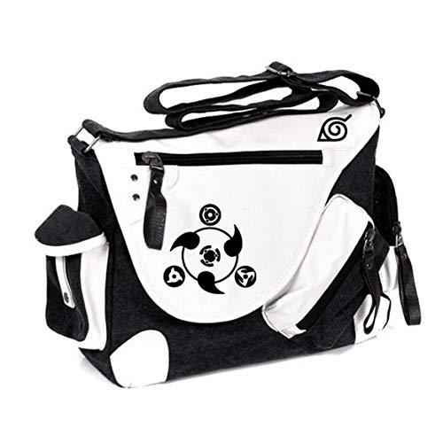 GO2COSY Anime Messenger Bag Handtasche Umhängetasche Tote Bag Studententasche Schultertasche für Naruto Cosplay