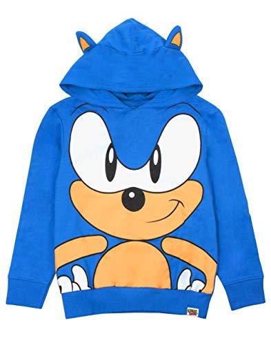 Sonic the Hedgehog Character 3D Ohren des Jungen Kinder BlauHoodie