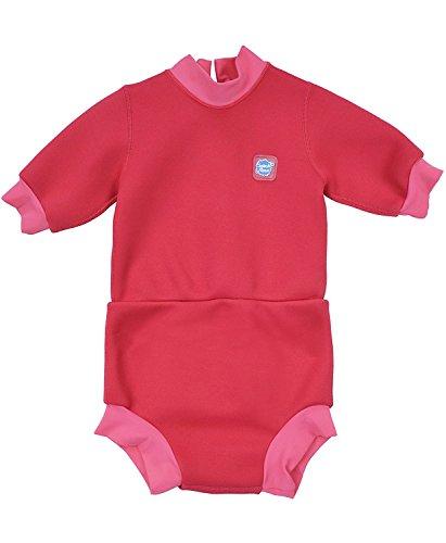 Splash About Baby Happy Nappy Neoprenanzug, Pink Geranium, 12-24 Monate