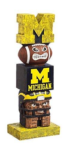 NCAA Michigan Wolverines Tiki Totem