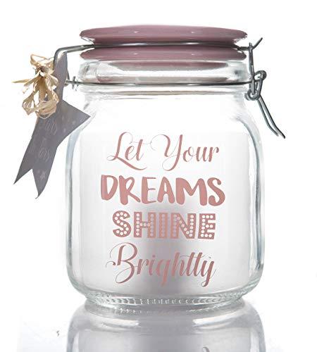 Boxer Gifts étoiles en bocaux – Laissez Vos Rêves Brillance, Rose, One