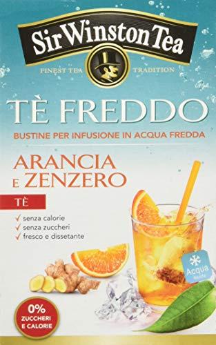 Sir Winston Tea Tè Freddo Arancia e Zenzero - Confezione da 3 x 18 bustine