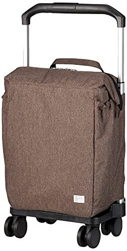 [エース] キャリーカート ショッピングカート 保冷機能付き マイバッグ カートタイプ 4輪 37351 ブラウン