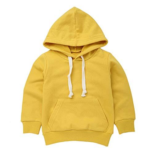 MEIbax Babykleidung MEIbax Kleinkind Mädchen mit Kapuze Sweatshirt Oberseiten Pullover Blusen Ausstattungen Säuglingsbaby Warm Hoodie Langrmshirt Top