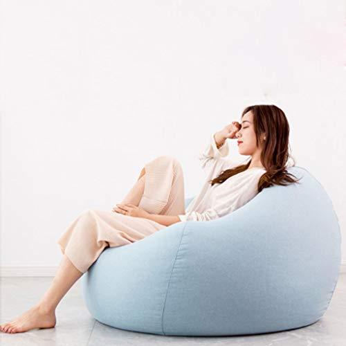 Grote zitzakken met afneembare overtrek voor kinderen, jongeren en volwassenen, van polyester stof.