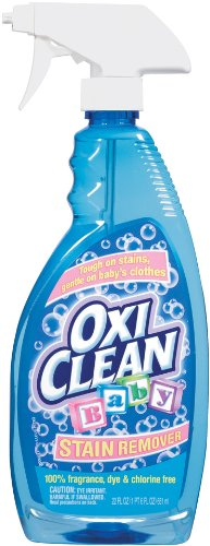 OxiClean Baby Stain Remover Spray, 22 Ounce (Pack of 2)