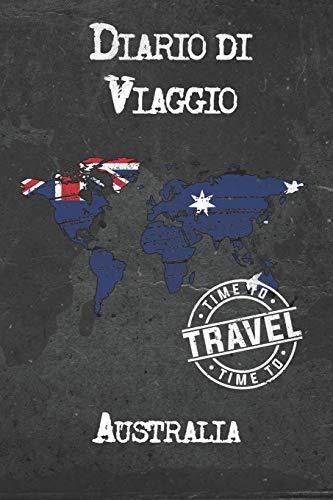 Diario di Viaggio Australia: 6x9 Diario di viaggio I Taccuino con liste di controllo da compilare I Un regalo perfetto per il tuo viaggio in Australia e per ogni viaggiatore