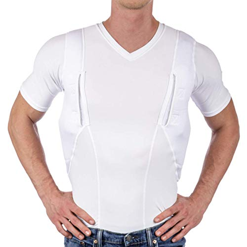 Holster Shirt for Concealed Carry by CCW Tactical -...