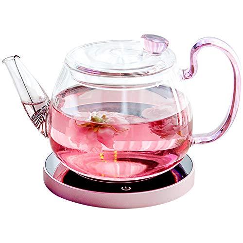 Infusor de cristal para tetera de inducción, accesorios para té y teteras verdes, 650 ml
