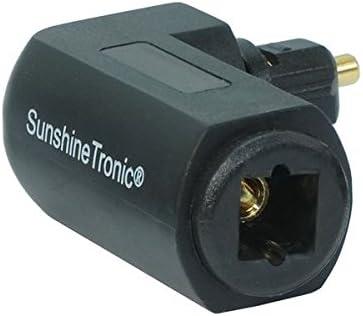 2 5m Sunshinetronic Premium Optisches Digitalkabel Elektronik