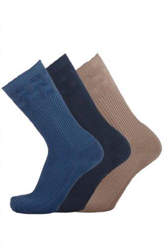 Hosiery-Direct-UK®Herren Socken Schwarz Mixed Fashions
