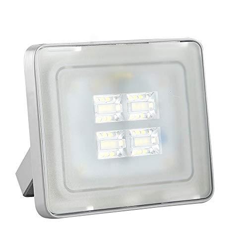 LED Strahler Außen 10W LED Beleuchtung 720LM LED Lampe Scheinwerfer 5000K-6500K Kaltweiß IP65 Wasserdicht LED Strahler Außen für Hof Garten, Garage, Werbetafeln, Stadien, Plätze, Fabriken